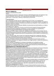 Provincia de Córdoba DECRETO Nº 2131 IMPACTO AMBIENTAL ...