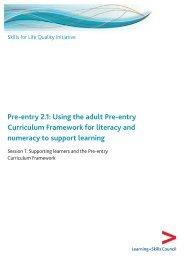 Session 01 - Skills for Life Improvement Programme