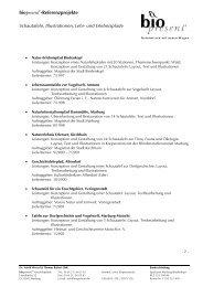 biopresent ®-Referenzprojekte
