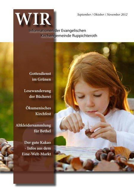 November 2012 - Evangelische Kirchengemeinde