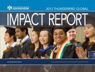 2013 thunderbird GLObAL - Thunderbird School of Global ...