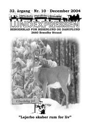 32. årgang · Nr. 10 · December 2004 - lundens.net