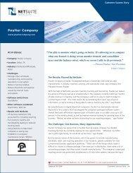 Poulter Company - NetSuite
