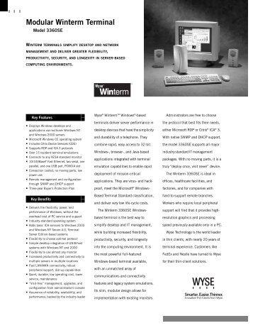 Modular Winterm Terminal - Arcy Solutions, Inc.