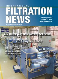 2014 Buyers' Guide - Filtration News