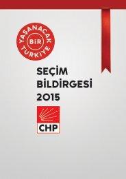 CHP-SECIM-BILDIRGESI-2015