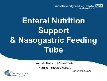 NG Feeding Tube Training