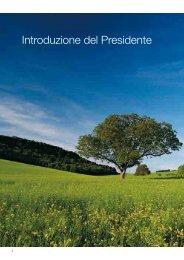 Introduzione del Presidente - Etra Spa