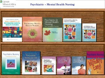 Psychiatric – Mental Health Nursing - Lippincott Williams & Wilkins