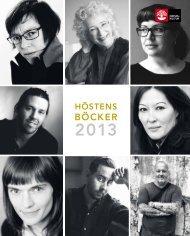 Höstens böcker 2013 - Natur och Kultur