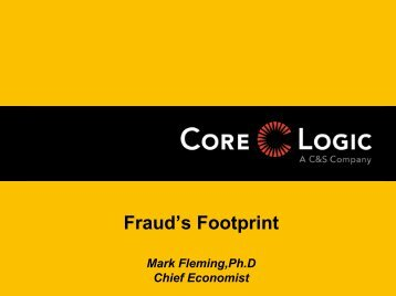 Fraud's Footprint