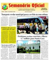 Transporte escolar municipal passa a ser feito na - Câmara ...