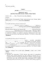 umowa - Huta Pokój S.A. z siedzibą w Rudzie Śląskiej - Ministerstwo ...