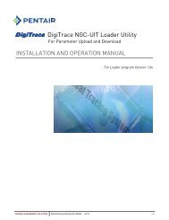 DigiTrace NGC-UIT Loader Utility - Pentair Thermal Management