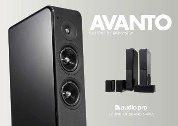 Avanto HTS 5.0 - Audio Pro
