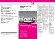 Bedienungsanleitung - Champex-Linden