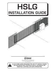 manual - Linear