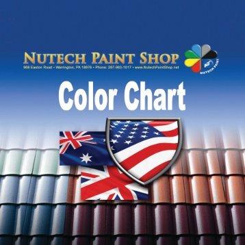 Color Chart - iMetal