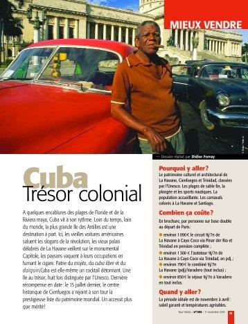 PDF :Cuba trésor colonial
