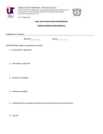 semestre__________ grupo - Instituto Universitario y Tecnológico ...