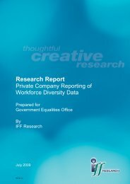 Private Company Reporting of Workforce Diversity Data
