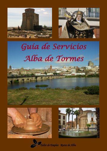 Guía de Servicios Alba de Tormes - Ayuntamiento de Alba de Tormes