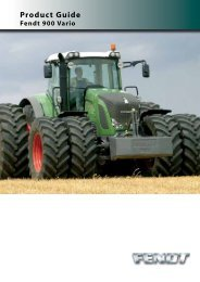 Vario 900 Product Info Guide - Farm Depot