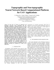 Topographic and Non-topographic Neural Network Based ...