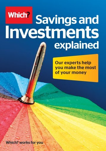 Savings and Investments - Magazine