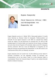Eugene Kaspersky - Kaspersky Lab – Newsroom Europe.