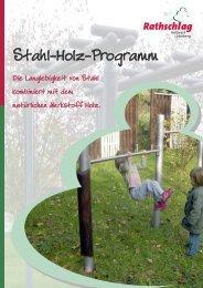 Stahl-Holz-Programm - Rathschlag