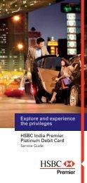 Debit Card Services Guide - HSBC