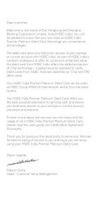 Debit Card Services Guide - HSBC - Page 3