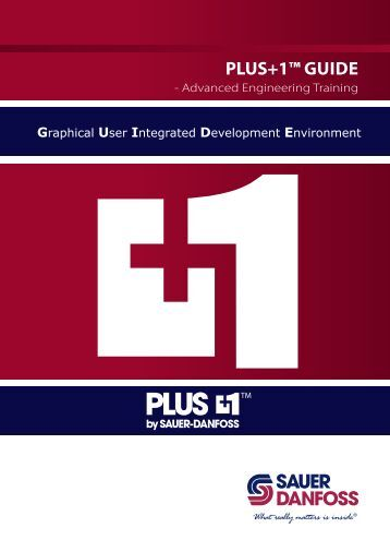 PLUS+1™ GUide - Sauer-Danfoss