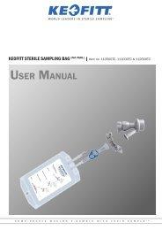 Keofitt Sterile Sampling Bag (Mini tri-clamp)