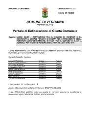 322 - legge 381/91 - convenzione tra il comune di verbania e la ...