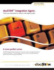 docSTAR™ Integration Agent. - DocSTAR Document Management