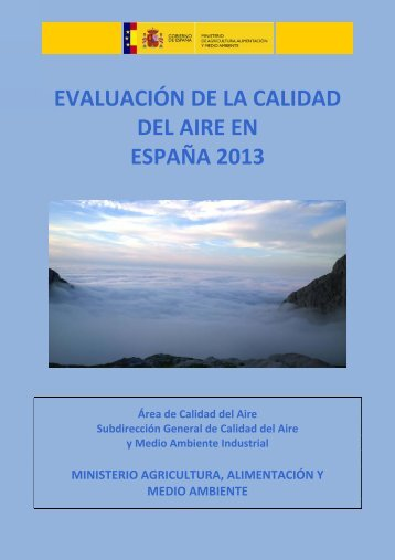 Informe_evaluacion_calidad_aire_España_2013_tcm7-345101