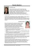(HIpE) 2009 Program and Abstracts - Health Sciences - Curtin ... - Page 5