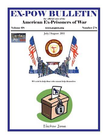 July-August 2011 - American Ex-Prisoners of War