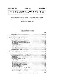 HeinOnline -- 101 Harv. L. Rev. 1659 1987-1988