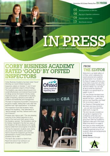 Issue 25 - Corby Business Academy