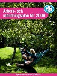 Arbetsplan 2009-2010 - Nykterhetsrörelsens Scoutförbund