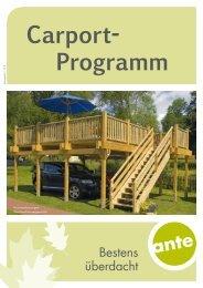 Carport- Programm