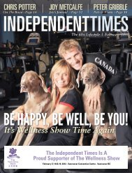 The Independent Times Is A Proud Supporter of The Wellness Show