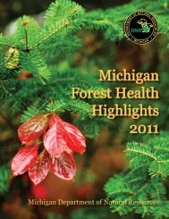 Michigan Forest Health Highlights 2011 - Forest Health Monitoring