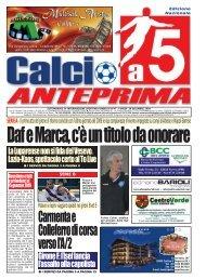 calcio a 5 anteprima 47/09 CN