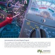 Instrumentation & Control Degree Program - Bismarck State College