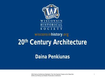 20th Century Architecture Highlights: From the Classical Temple to ...