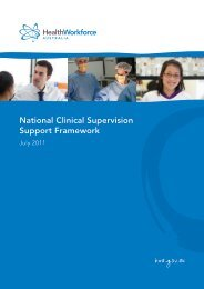 National Clinical Supervision Support Framework - Health ...